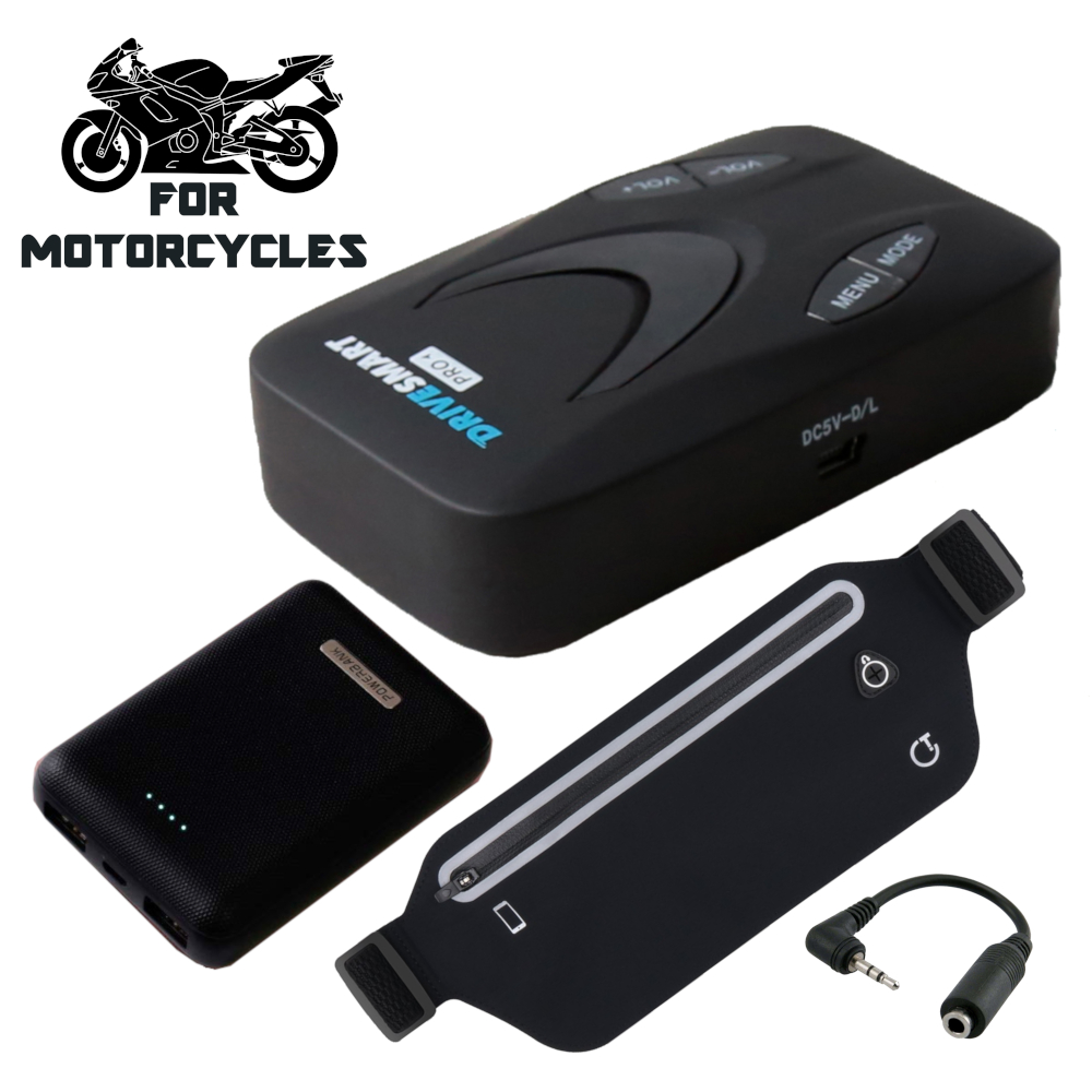 Drivesmart Pro Speed Camera Detector For Motorcycles